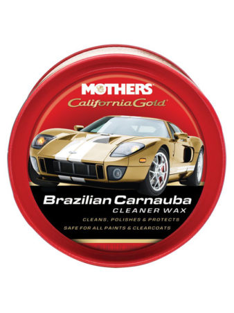 Mothers Brazilian Carnauba Cleaner Wax Paste Wax
