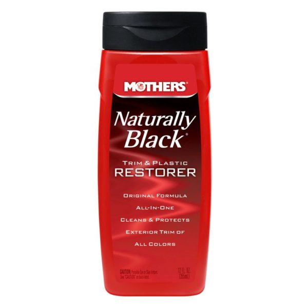 Mothers Naturally Black Trim & Plastic Restorer