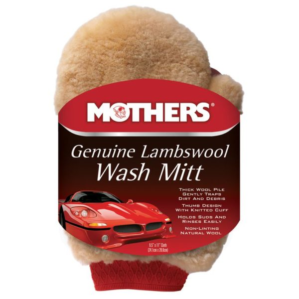 Mothers Genuine Lambswool Wash Mitt