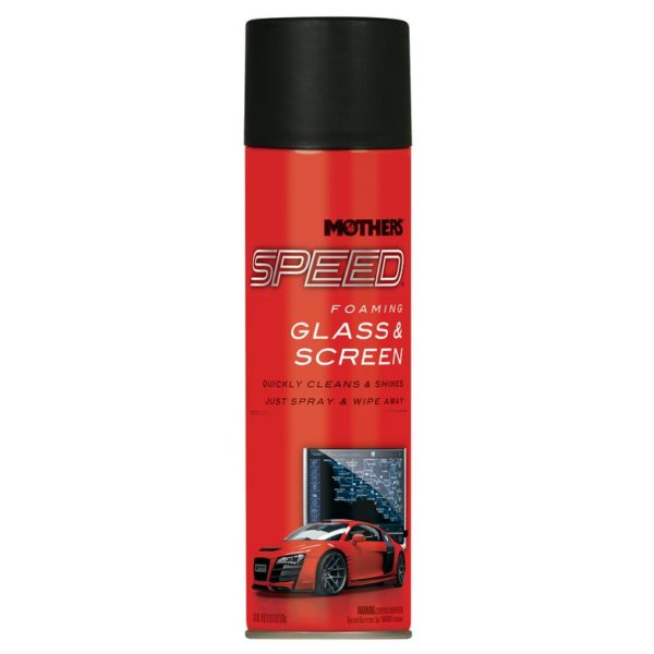 Mothers Speed Foaming Glass and Screen Cleaner