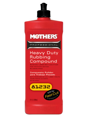 Mothers Heavy Duty Rubbing Compound